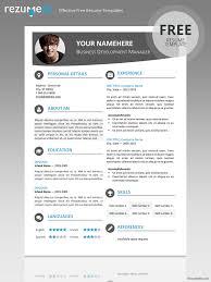 Free Modern Resume Template Kkk Modern Resume Template Resume