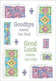 Farewell Cards Coworker Goode Card Printable Farewell Card Bon