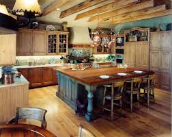 the stylish rustic country kitchen decor regarding inspire home