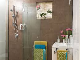 a renovated bathroom with new shower screen