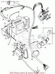 Honda ct90 trail k1 usa wire harnessbattery bighu0075f2418 7cbf wiringam harness
