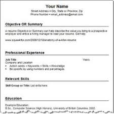 Get Your Resume Template! (three for free