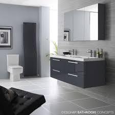 black vanity units for bathroom. quartet designer high gloss grey bathroom furniture - main image black vanity units for e