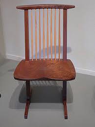 Becca stool bamboo furniture modern bamboo Bamboo Architonic conoid Chair By George Nakashima 1988 George Nakashima Wikipedia