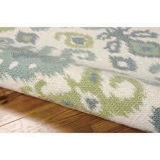 interesting ikat rug for your floor design nourison vista ivory ikat rugs