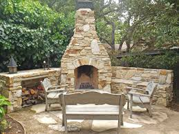 gallery of outdoor stone fireplace kits for diy grill designs