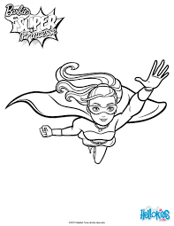 Small Picture Barbie Superhero Coloring Pages Coloring Pages