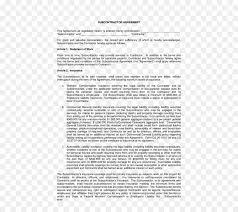 Noncompete Clause Subcontractor Business Non Compete Clause General Contractor