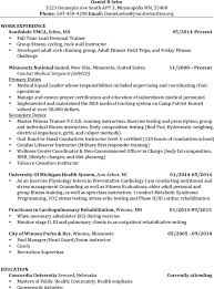 Persona Trainer Sample Resume Extraordinary 44 Personal Trainer Resume Templates Free Download