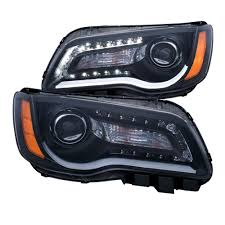2014 Chrysler 300 Lights Anzo 2011 2014 Chrysler 300 Projector Headlights W Plank