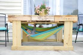 pallet patio furniture decor. Appealing Little Bit Funky Another Pallet Project Outdoor Table From Pics For Patio Diy Inspiration And Furniture Decor