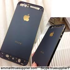 iphone 5s gold and black. black housing with gold logo for 5s 5 iphone and