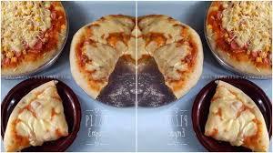 Bisa banget bila anda mengikuti resep pizza teflon yang doyanresep.com namun hasil roti pizzanya dijamin enak, empuk dan cruncy. Rahasia Bikin Adonan Pizza Supaya Tetep Empuk Meski Sudah Dingin Dan Tanpa Pakai Telur