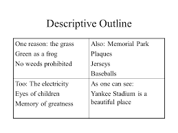 descriptive essay sample of an a paper ppt 3 descriptive
