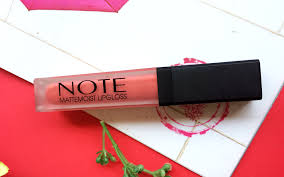 lip gloss review note cosmetics matte moist gloss by j dot