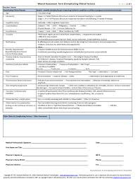 Wound Charting Examples Sample Wound Care Documentation Form