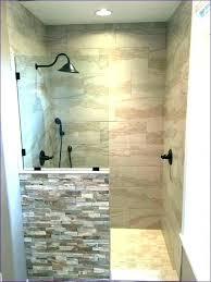 post small shower stall ideas bathroom tile tiny stalls pebble floor