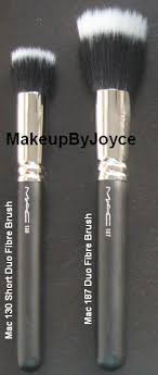 mac liquid foundation brush. review: mac 130 short duo fibre brush vs. 187 liquid foundation d