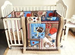 sports crib bedding new baby bedding set baseball baby boy sports crib bedding sets cot crib sports crib bedding