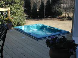 decks with hot tubs | spa deck in Macon, GA is a pristine example of