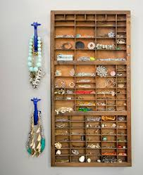 Bracelet Organizer Ideas Splendid Over The Door Jewelry Organizer Bed Bath And Beyond