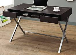 coaster contemporary computer workstation office desk table. Coaster Home Furnishings 800117 Contemporary Computer Desk, Cappuccino Workstation Office Desk Table E