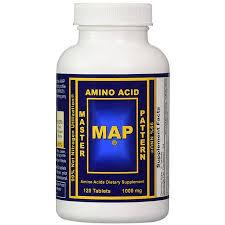 Master Amino Acid Pattern Extraordinary MAP Master Amino Acid Pattern 48 Tablets Sports Nutrition