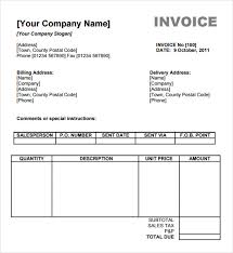 sample billing invoice sample billing invoice 12 documents in pdf word excel