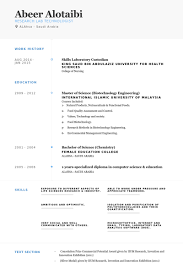 Enchanting Laboratory Skills Resume 98 About Remodel Simple Resume with Laboratory  Skills Resume