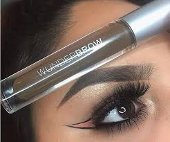 Wunderbrow Shades Chart New Wunderbrow Black Brown Wunder2 Perfect Brows Wunderbrow Eyebrow Gel