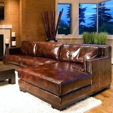 brown leather sectional saddle with right facing chaise regard to ideas beautiful faux couch sad