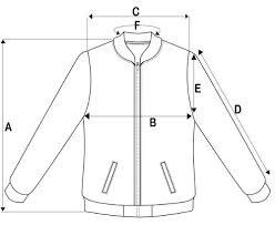 Varsity Jacket Size Chart Jackets Varsity Jacket Corporate Jacket Windbreaker Jacket