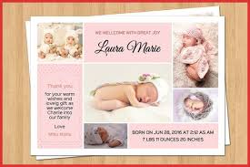 Elegant Baby Announcement Templates | Robinson Removal Company