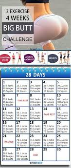 workout for beginners workout challenge at home without any instruments 28 days bigger workout plan 3 exercise and 4 weeks