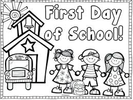 First Grade Coloring Pages First Day Of First Grade Coloring Sheets