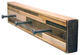Wooden Coat Hook Rack Wooden Wall Coat Rack Rustic Wood Wall Coat Hook Rack With Shelf And 55