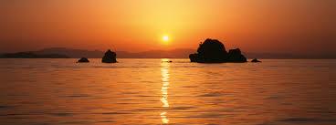「瀬戸内海 夕暮れ 島々」の画像検索結果