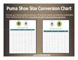 Buy Puma Size Chart Off70 Discounts