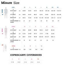 Custom Size Chart Nalini Size Chart Nalini Sizing Chart Nalini Custom