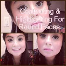 round face makeup contouring and highlighting for round faces you
