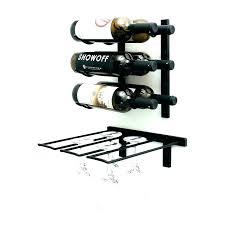 modern wall wine rack wall mounted wine and glass rack wall wine rack target wall mounted