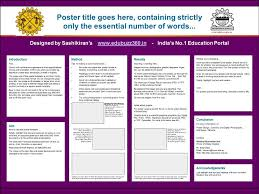 format of presentation of project professional a3 templates for project poster presentation