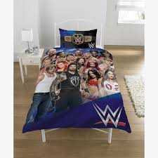 wwe bedding white bed