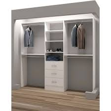 Lowes Closet Rod Enchanting Wood Closet Rod Lowes Systems Ikea Doors Pulsemagorg