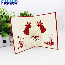 Images Of Christmas Invitations Bag 3d Hollow Invitation Cards Merry Christmas Invitations Gift Card For Party Favors Supplies Xmas Parties Decoration Card Birthday Greetings