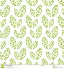 Eenvoudig Naadloos Organisch Behang Met Een Patroon Van Groene