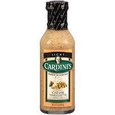 cardinis caesar salad dressing.  Dressing Cardiniu0027s Caesar Light Vinaigrette Dressing On Cardinis Salad D