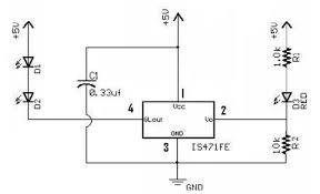 infrared proximity sensor figure 1 schematic of ir proximity sensor