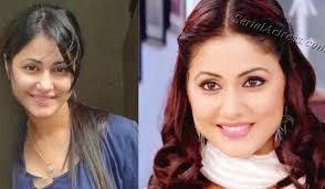tv actress without makeup