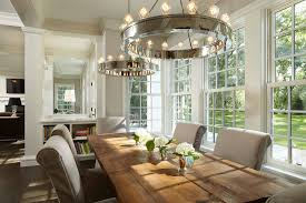 dining room track lighting. Awesome Farmhouse Chandelier For Your Dining Room Ideas: With Round Track Lighting And M